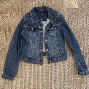 GAP kids XL Jean jacket